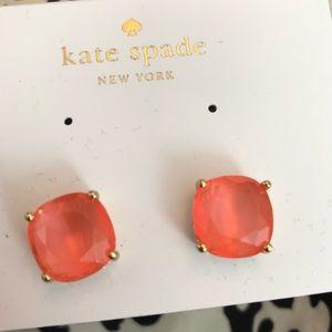 Kate spade oversized stud earrings